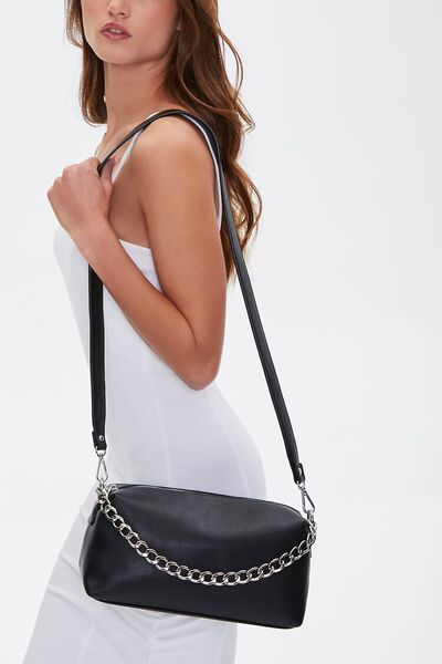 Chain-Strap Crossbody Bag