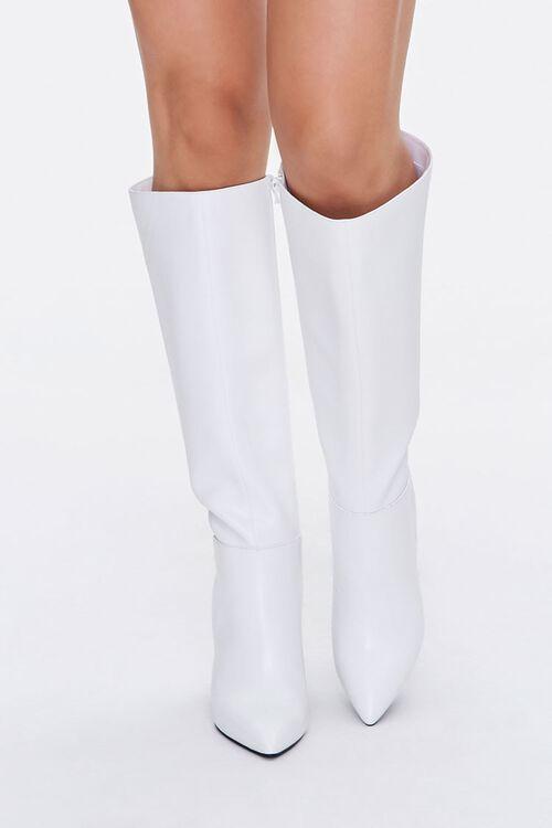 Knee-High Block Heel Boots, image 4