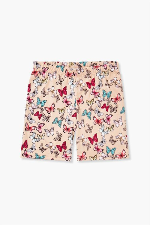 Girls Butterfly Print Shorts (Kids), image 1