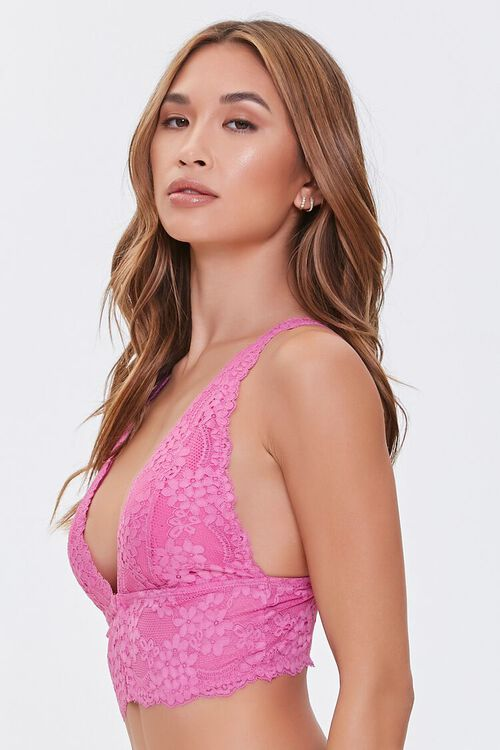 Lace Hook-and-Eye Bralette, image 2