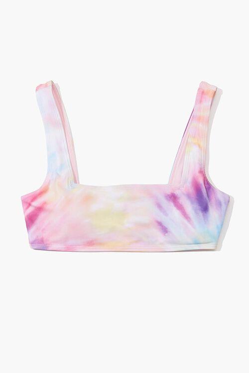 Tie-Dye Bikini Top, image 1