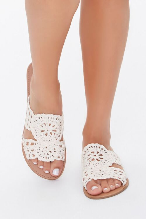 Crochet Flat Sandals, image 2