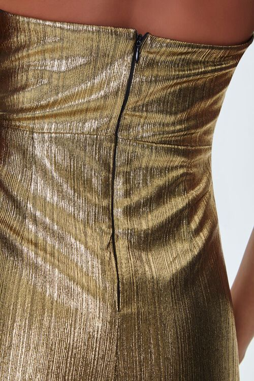 Metallic Maxi Dress, image 5
