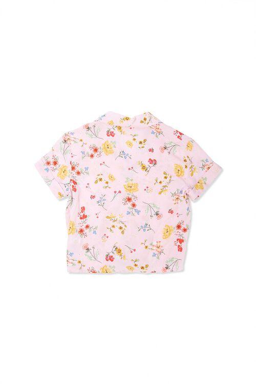 Girls Floral Print Shirt (Kids), image 2