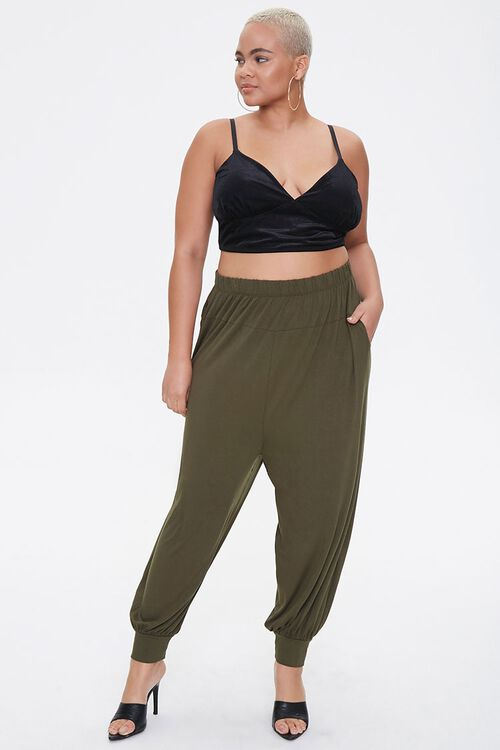 Plus Size Billowy Joggers, image 5