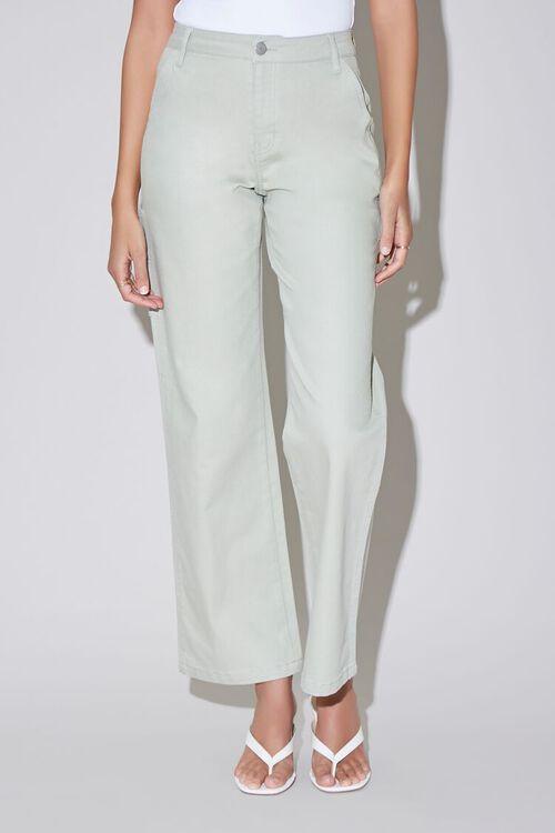 High-Rise Carpenter Jeans, image 2