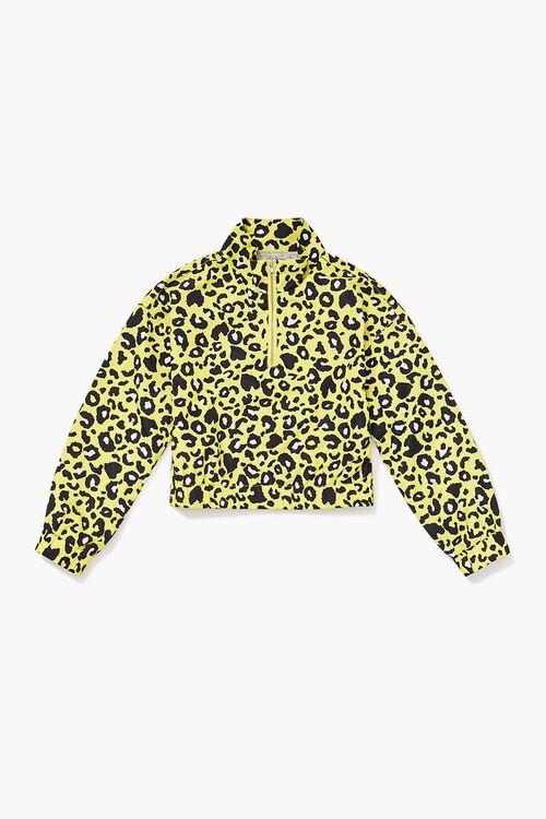 Girls Leopard Print Anorak (Kids), image 1