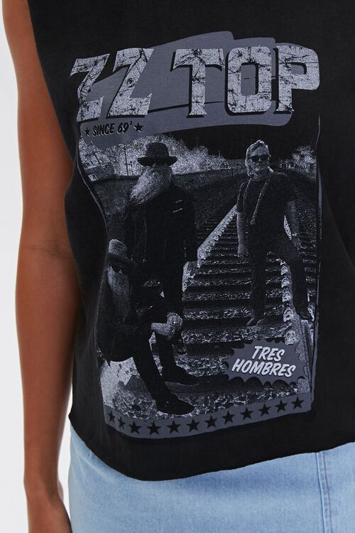 ZZ Top Graphic Muscle Tee, image 5