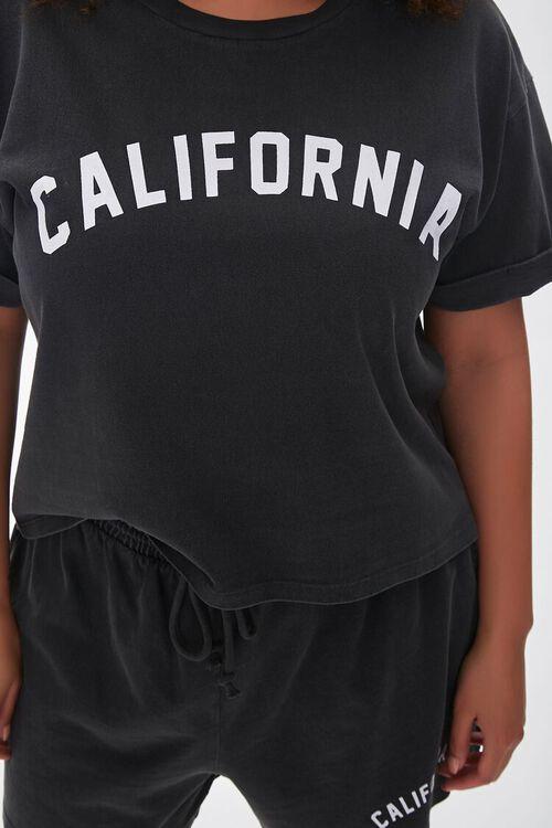 Plus Size California Tee & Shorts Set, image 5