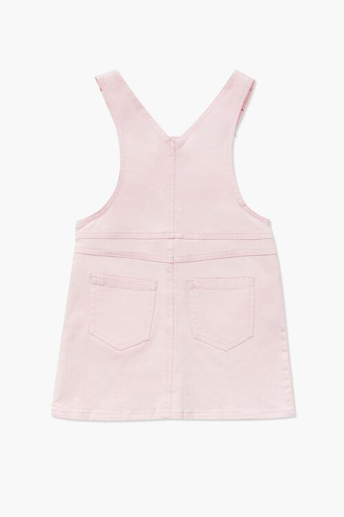 Girls Denim Overall Dress (Kids), image 2