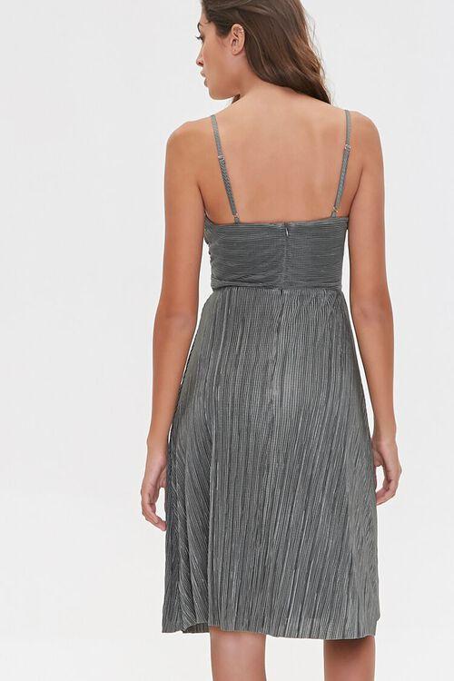 Pleated Cutout Cami Dress, image 4