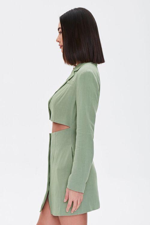 Cutout Blazer Mini Dress, image 3