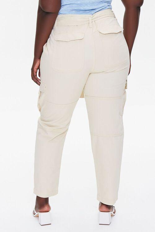 Plus Size Ankle Cargo Pants, image 4