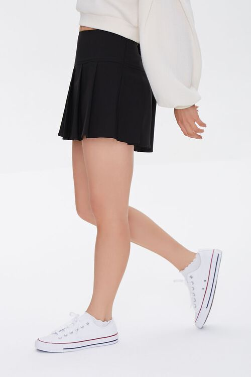 Pleated A-Line Skirt, image 3
