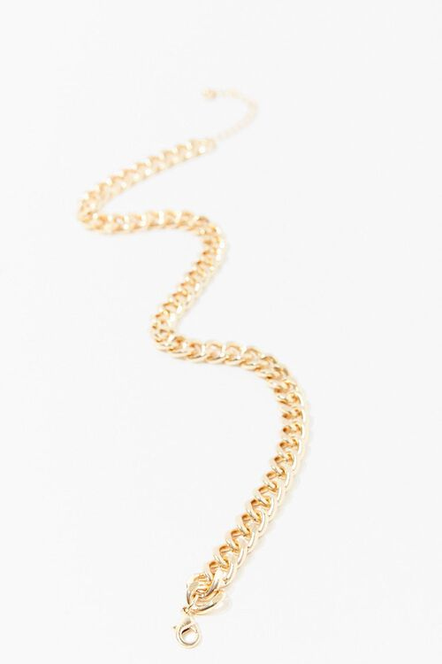 Chunky Curb Chain Necklace, image 4
