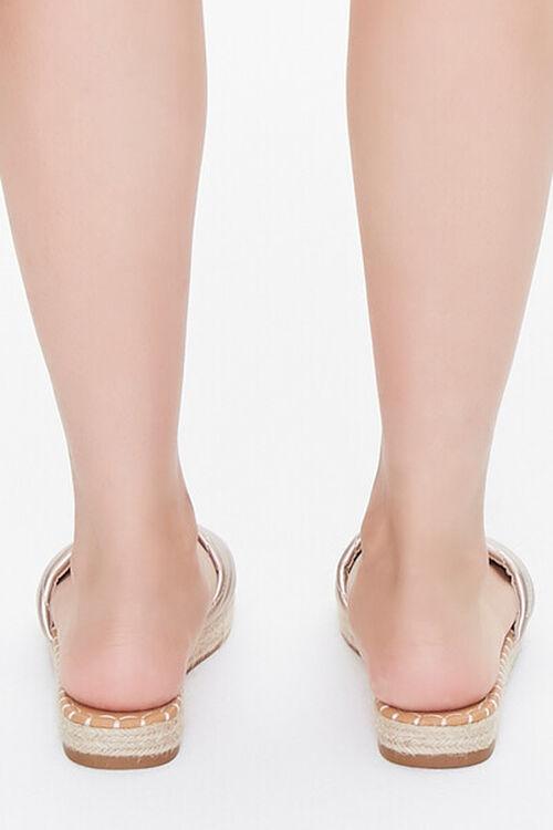 Quilted Espadrille Flatform Sandals, image 3