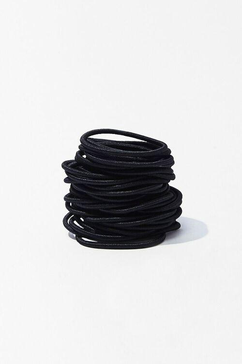 BLACK Hair Tie Set, image 1