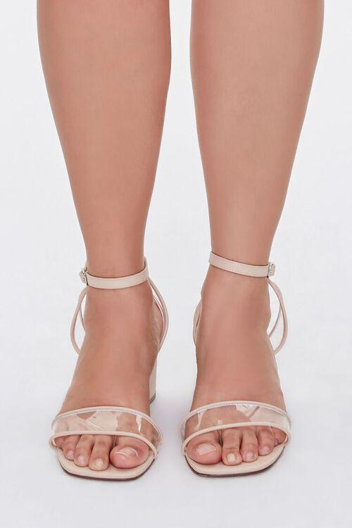 Clear-Strap Block Heels (Wide), image 4