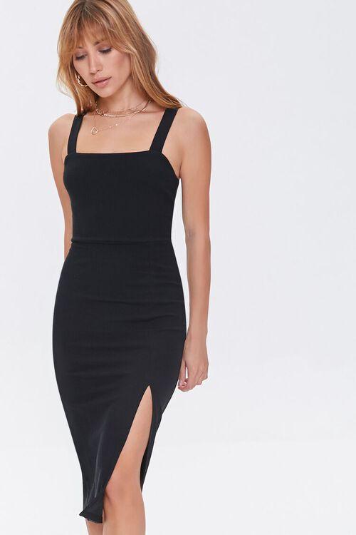 Bodycon Slit Dress, image 1
