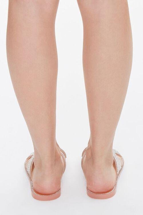 Rhinestone Crisscross Sandals, image 3
