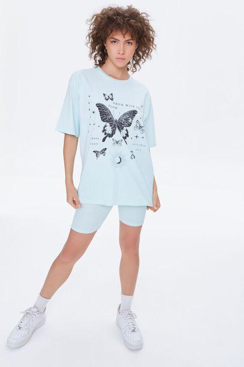 Butterfly Tee & Biker Shorts Set, image 4