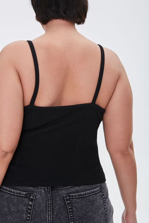 Plus Size Ribbed Knit Cami, image 3