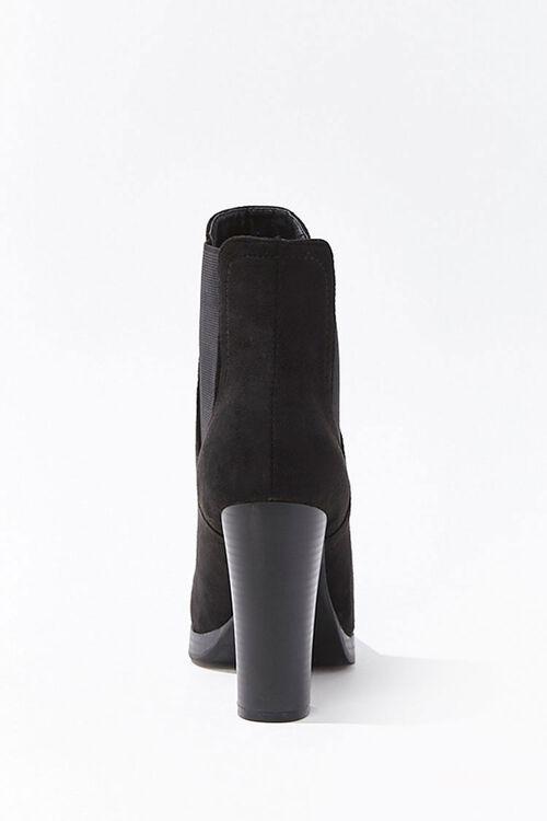 Faux Suede Chelsea Boots, image 2