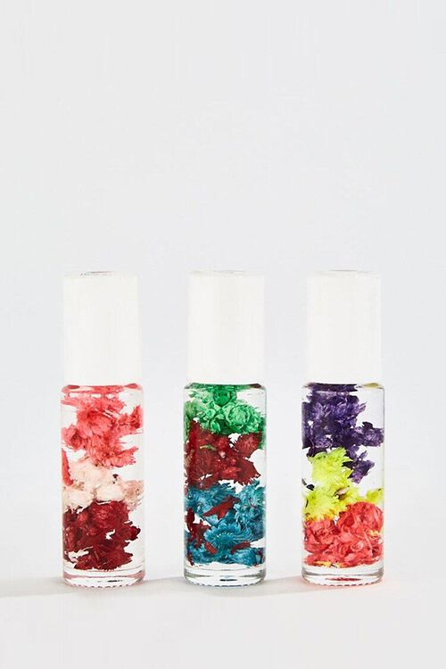 WHITE Unicorn Blossom Lip Gloss Set , image 1