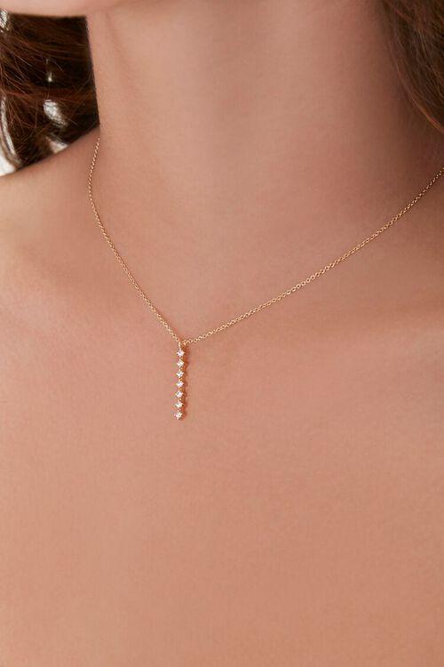CZ Pendant Necklace, image 1