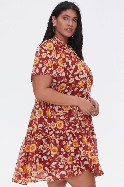 Plus Size Floral Dress, image 2
