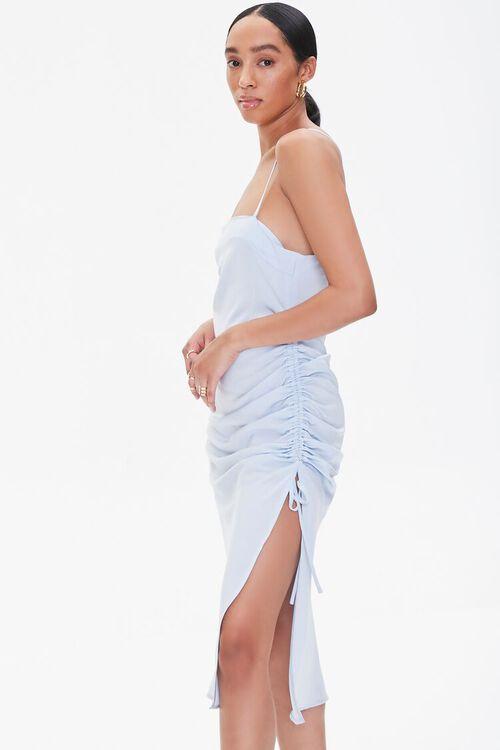 Satin Crisscross Slip Dress, image 2