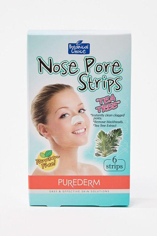 Tea Tree Nose Pore Strips, image 1