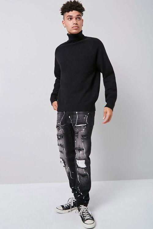 Turtleneck Raglan Sweater, image 4