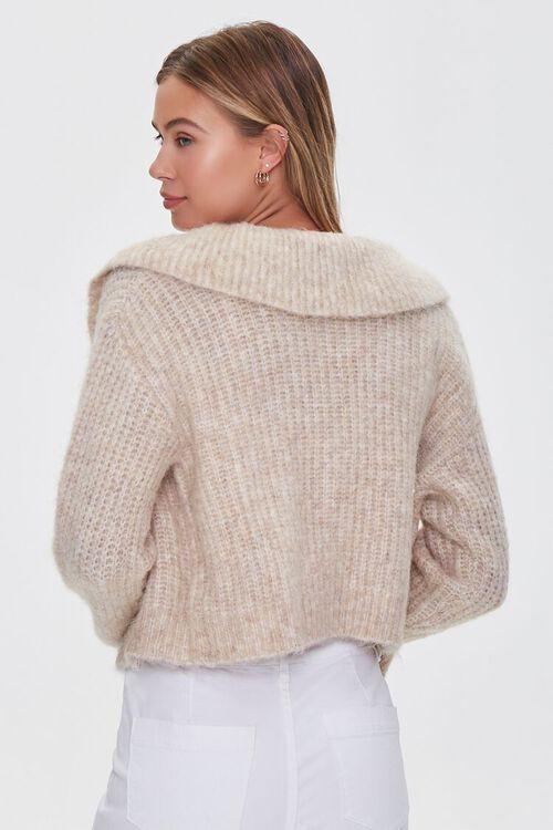 SAND Ribbed Cardigan Sweater, image 3
