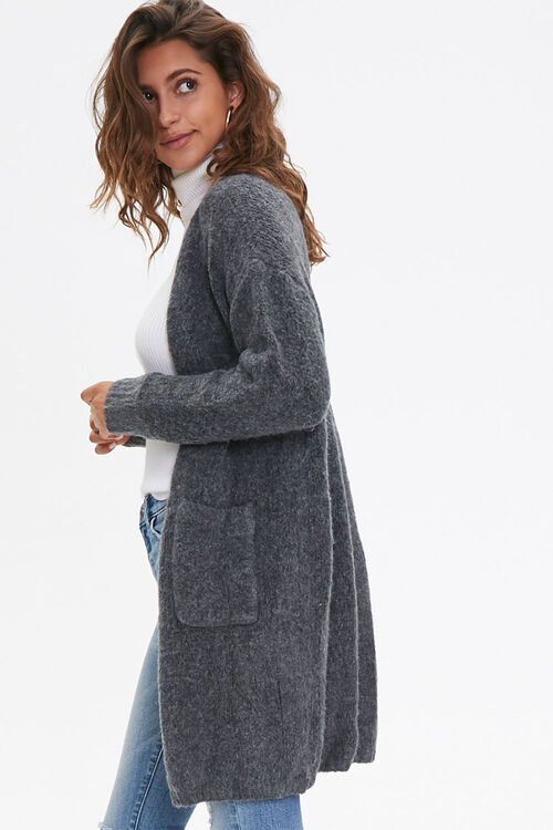 Longline Open-Front Cardigan, image 2