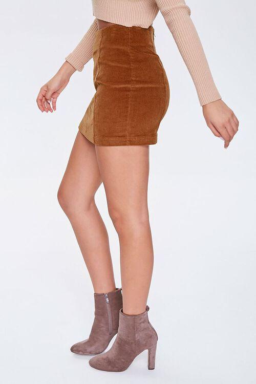 Corduroy Mini Skirt, image 2