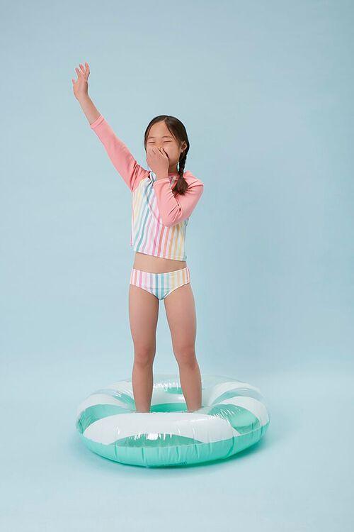 Girls Rainbow Two-Piece Swimsuit (Kids), image 1