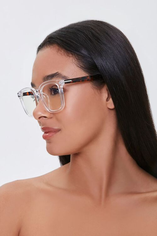 CLEAR/CLEAR Blue Light Reader Glasses, image 2