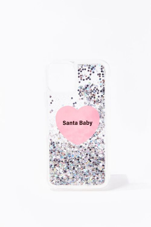 PINK/MULTI Santa Baby Case for iPhone 11 Pro, image 2