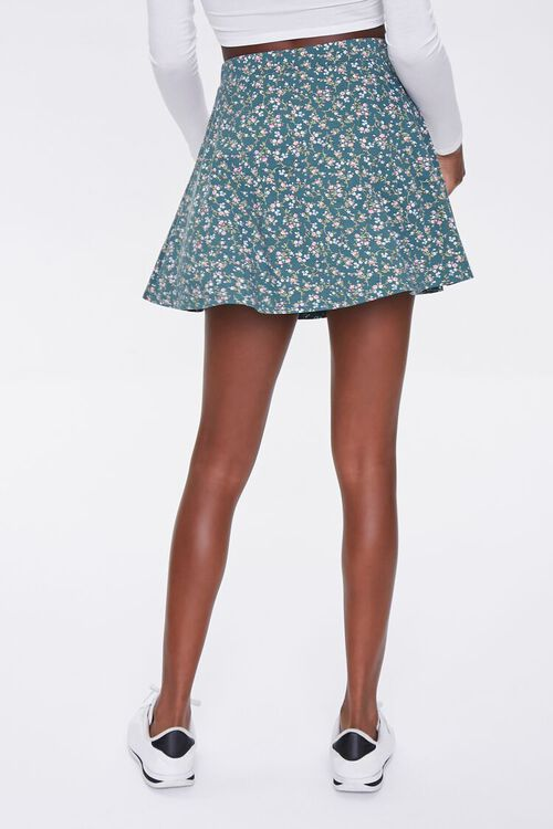 Floral Skater Skirt, image 4
