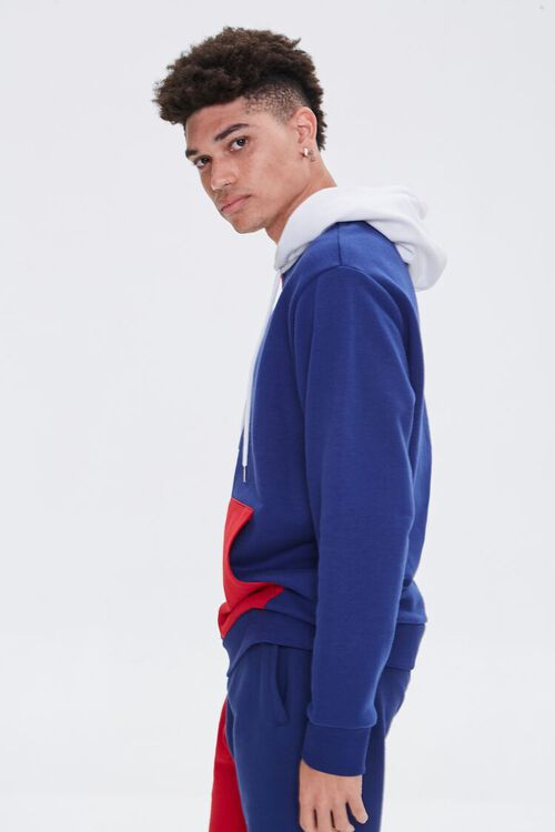 Colorblock French Terry Hoodie, image 2