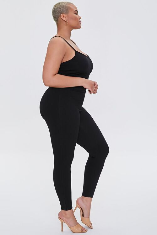 Plus Size Fitted Cami Jumpsuit, image 2