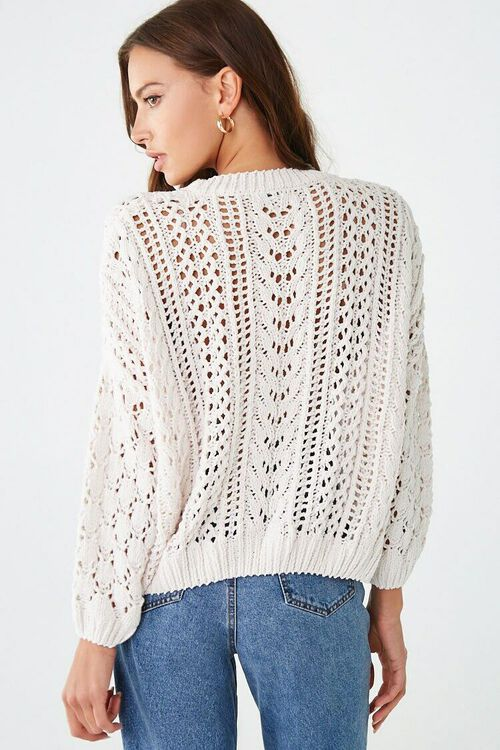 CREAM Open-Knit Chenille Sweater, image 3