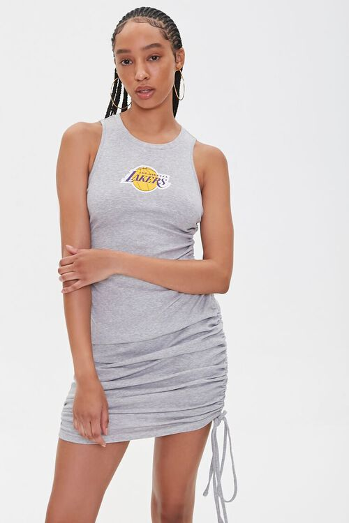Lakers Graphic Mini Dress, image 6