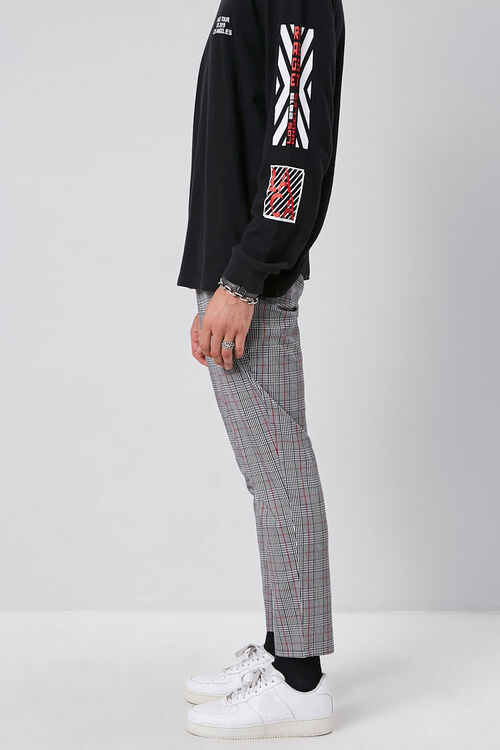 Plaid Woven Trousers, image 3