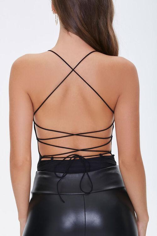 Lace-Back Cami Bodysuit, image 3