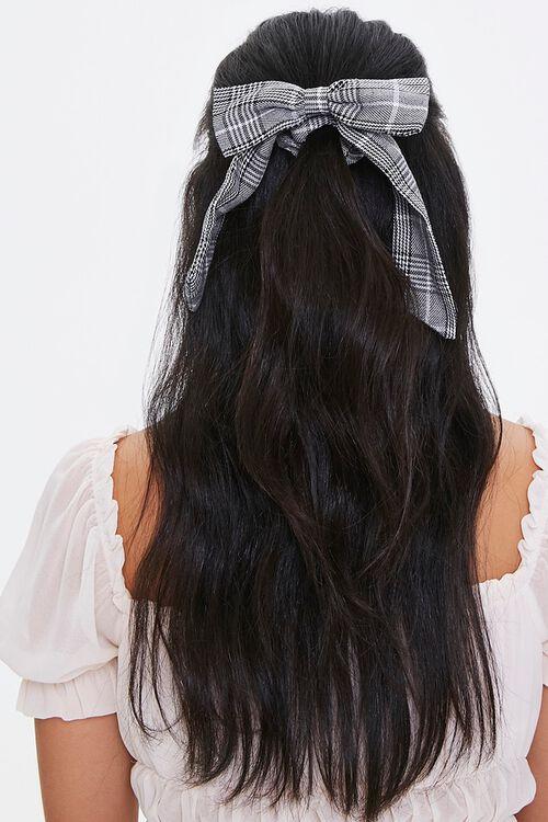 Plaid Bow Hair Tie, image 1