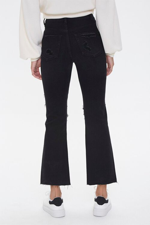 Distressed Flare Ankle Jeans, image 4