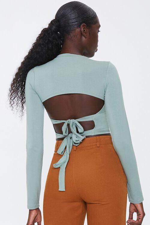 Tie-Back Crop Top, image 3