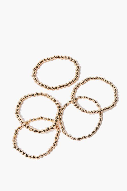 Beaded Stretch Bracelet Set, image 1